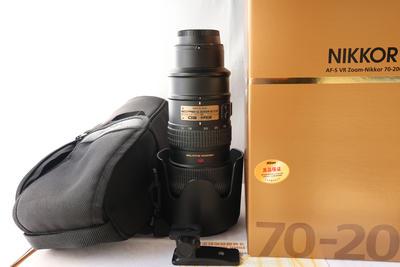 尼康 镜头AF-S VR 70-200mm f/2.8G IF-ED 一代小竹炮 成色极好