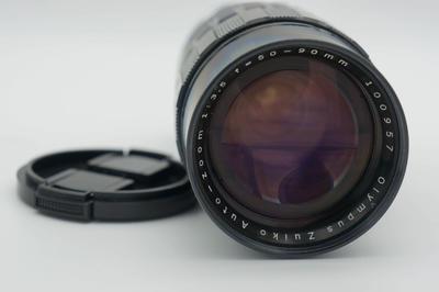 奥林巴斯50-90 F3.5 恒定镜头 pen-F 半格机专用