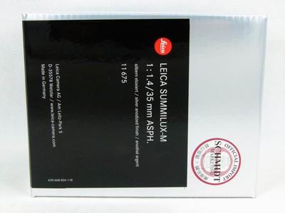 华瑞摄影器材-徕卡Leica Summilux-M 35/1.4 Asph 11675银色
