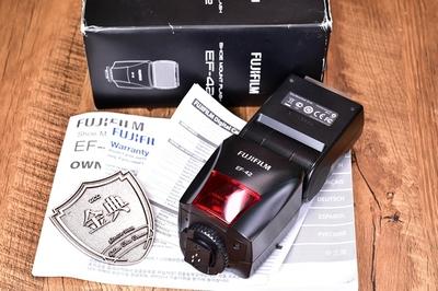93新二手Fujifilm 富士EF-42 机顶 闪光灯106839