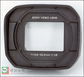 Sony/索尼 DSR-PDX10P 磁带式 数码摄像机用遮光罩