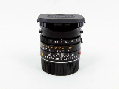华瑞摄影器材-徕卡Leica M 35/2 ASPH黑色