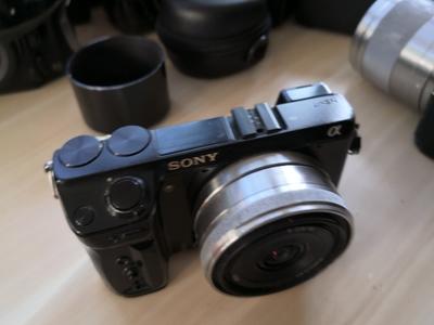 SNOY索尼 NEX-7   NEX-VG30E   HVL-F58AM   16/2.8等低价出