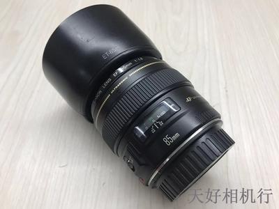《天津天好》相机行 99新 佳能EF 85/1.8 USM 镜头