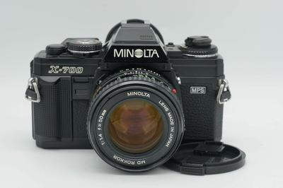 美能达 X700 Minolta X-700 50 1.4 套机 近新好成色