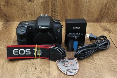 95新二手 Canon佳能 7D 单机 中端单反相机 204619