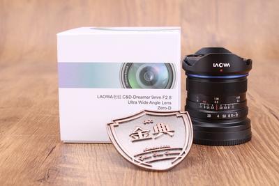 95新老蛙 9/2.8 超广角APS-C微单定焦镜头索尼E口+49mmUV镜000313