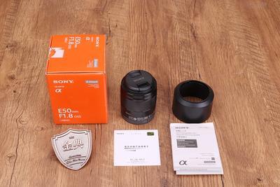 98新二手Sony索尼 50/1.8 OSS E卡口 定焦镜头 3090344