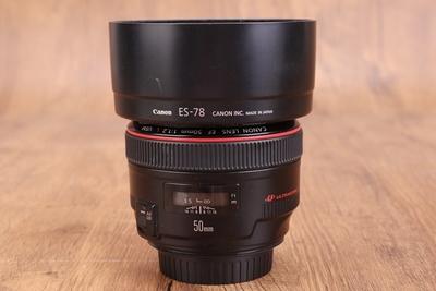 95新二手 Canon佳能 50/1.2 L USM 定焦镜头 761821