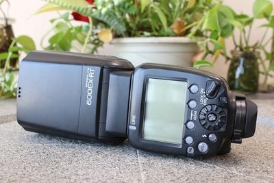 95新二手Canon佳能 600EX-RT 一代机顶闪光灯 100221