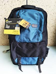 库存全新乐摄宝 Fastpack 250北极蓝双肩包