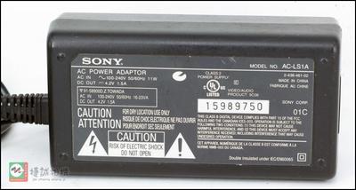 索尼相机.摄像机 充电器/适配器AC-LS1A