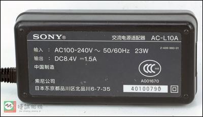 索尼相机/摄像机电源适配器/充电器 AC-L10A