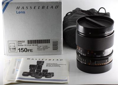 哈苏 Hasselblad 150/2.8 FE 大光圈 2系列镜头 带包装