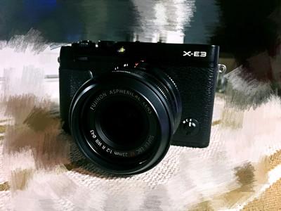自用诚心出 富士 X-E3 XF23MM F2镜头