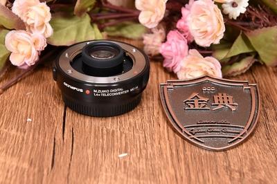 93新奥林巴斯1.4x增距镜头MC-14 1.4倍一代增倍镜头4/3口227521