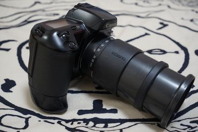 佳能 EOS 10QD 带手柄 腾龙28-200mm