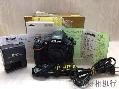 《天津天好》相机行 99新 行货带包装 尼康D810 机身