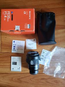 出95新索尼FE 35mm f/1.4 ZA,镜片完美,箱说全