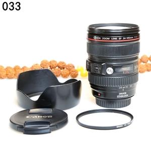 佳能 EF 24-105mm f/4L IS USM 经典红圈镜头 编码033