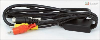 数码相机/摄像机用AV线 数据线 一分四 1.5米长