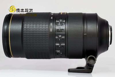 【中长焦镜头】尼康80-400/4.5-5.6G ED VR(NO:4489)*