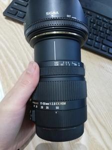 包装齐全国行适马 17-50mm f/2.8 EX DC OS HSM