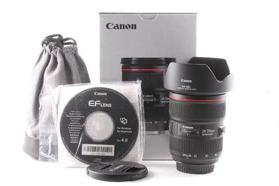 98/佳能 EF 24-70mm f/2.8L II 二代 USM 极新净 ( 全套包装)