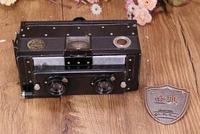 90新二手法国boyer立体相机76/6.3双镜头收藏相机 13999 14019