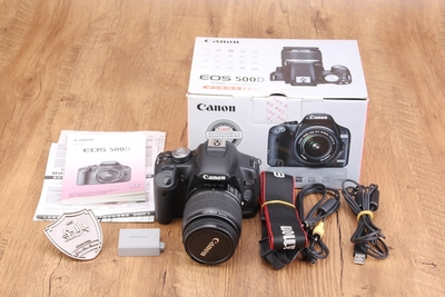 95新佳能 500D套18-55IS镜头数码单反相机 247226 062243