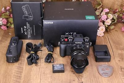 98新富士 X-T2套18-55镜头微单相机带VPB-XT2手柄 W50939