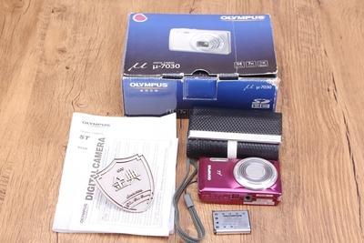 95新二手奥林巴斯 u-7030数码相机u系列复古收藏机 回收202068