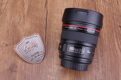 98新二手 Canon佳能 14/2.8 L II USM二代广角回收 213207