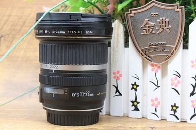 95新二手Canon佳能 10-22/3.5-4.5 USM 广角镜头 700427