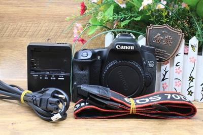 95新二手 Canon佳能 70D 单机 中端单反相机回收 4006745