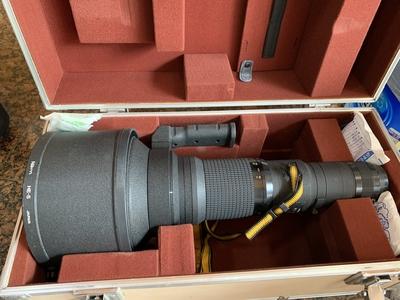 尼康大炮 尼康 nikon AI-S 600mm F4 ED