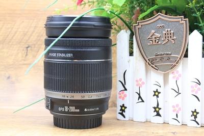 93新二手Canon佳能 18-200/3.5-5.6 IS 防抖镜头 1001761