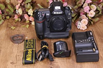 95新二手 Nikon尼康 D3X 单机 快门25300次 5023340