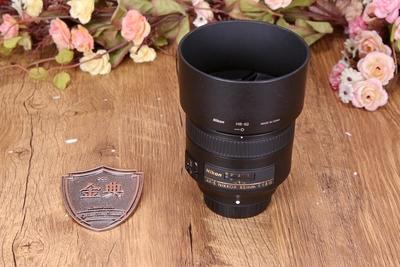 95新二手 Nikon尼康 85/1.8 G 定焦镜头 回收255769