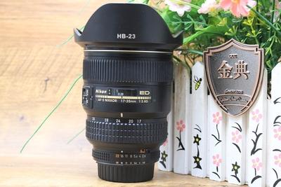 93新二手 Nikon尼康 17-35/2.8 D ED 金广角219458