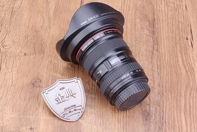 93新二手 Canon佳能 17-40/4 L USM 广角镜头512668