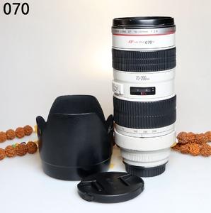 佳能 EF 70-200mm f/2.8L USM(小白) 长焦单反镜头编号070