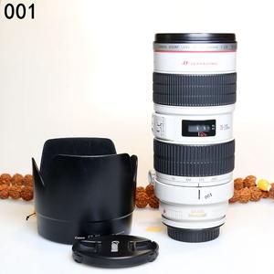 佳能 EF 70-200mm f/2.8L IS USM(小白IS)长焦单反镜头编号001