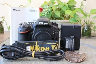 96新二手Nikon尼康 D750 单机 快门3286次 9002576