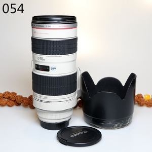 佳能 EF 70-200mm f/2.8L USM(小白) 长焦单反镜头编号055