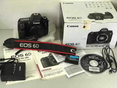 佳能单反数码 EOS 6D 相机机身【天津福润相机器材店】