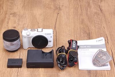 95新二手Canon佳能 M3套15-45镜头微单相机 7004505 10001092