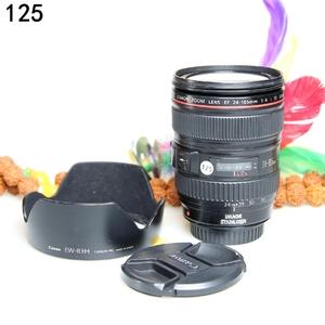 佳能 EF 24-105mm f/4L IS USM 经典红圈镜头 编码125