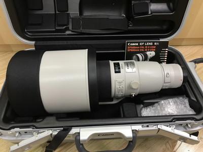 Canon/佳能 EF 600mm F/4 IS USM II 二代 超长焦定焦镜头