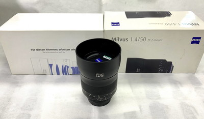 Zeiss/蔡司 Milvus 50mm/1.4 ZF.2 猎鹰版 尼康口 手动定焦镜头